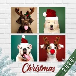 Christmas Frames Collage Maker