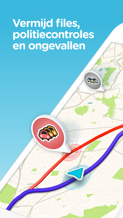 Waze navigatie & Live verkeer