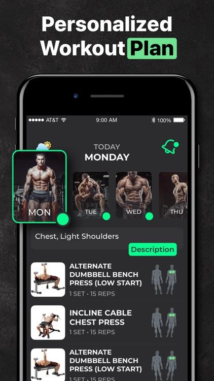 ProFit: Personal Workout Plan screenshot-4