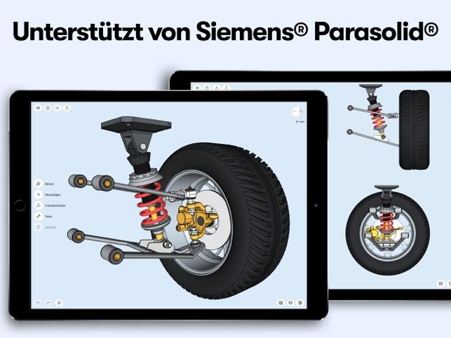 Shapr: 3D-Modellierungs-CAD Screenshot