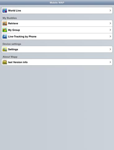 Mobile WAP - náhled