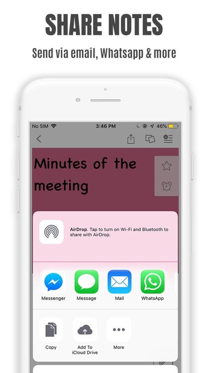 StickMe Notes Sticky Notes App screenshot-8