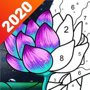 数字填色:秘密花园涂色