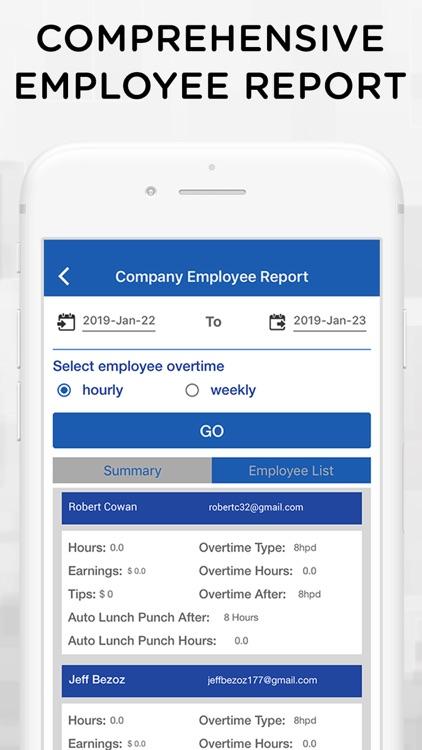 iTimePunch Plus Time Sheet App screenshot-5