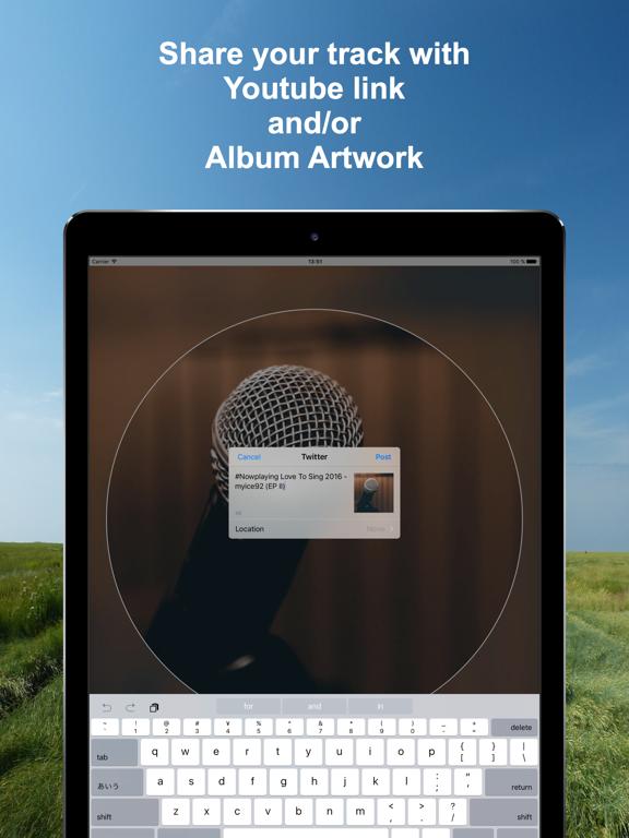 Screenshot #5 pour #Nowplaying - Tweet Your Music