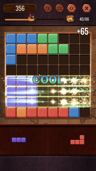Block Puzzle - Cute Emoji screenshot 1