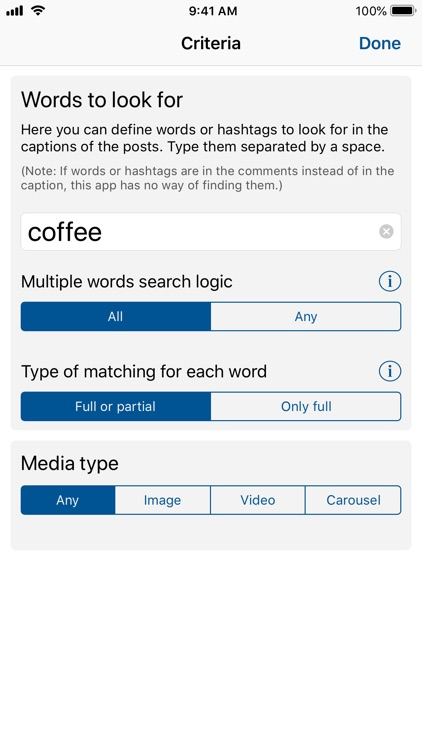Better Search for Instagram
