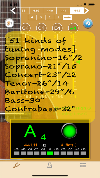 UkuleleTuner - Tuner for Uke screenshot four