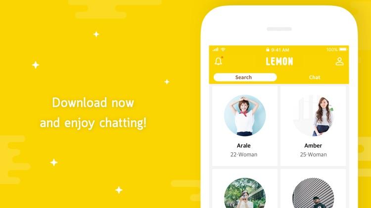LEMON - very fun chat app screenshot-4