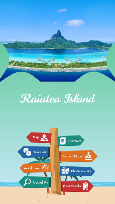Raiatea Island Tourism screenshot 2