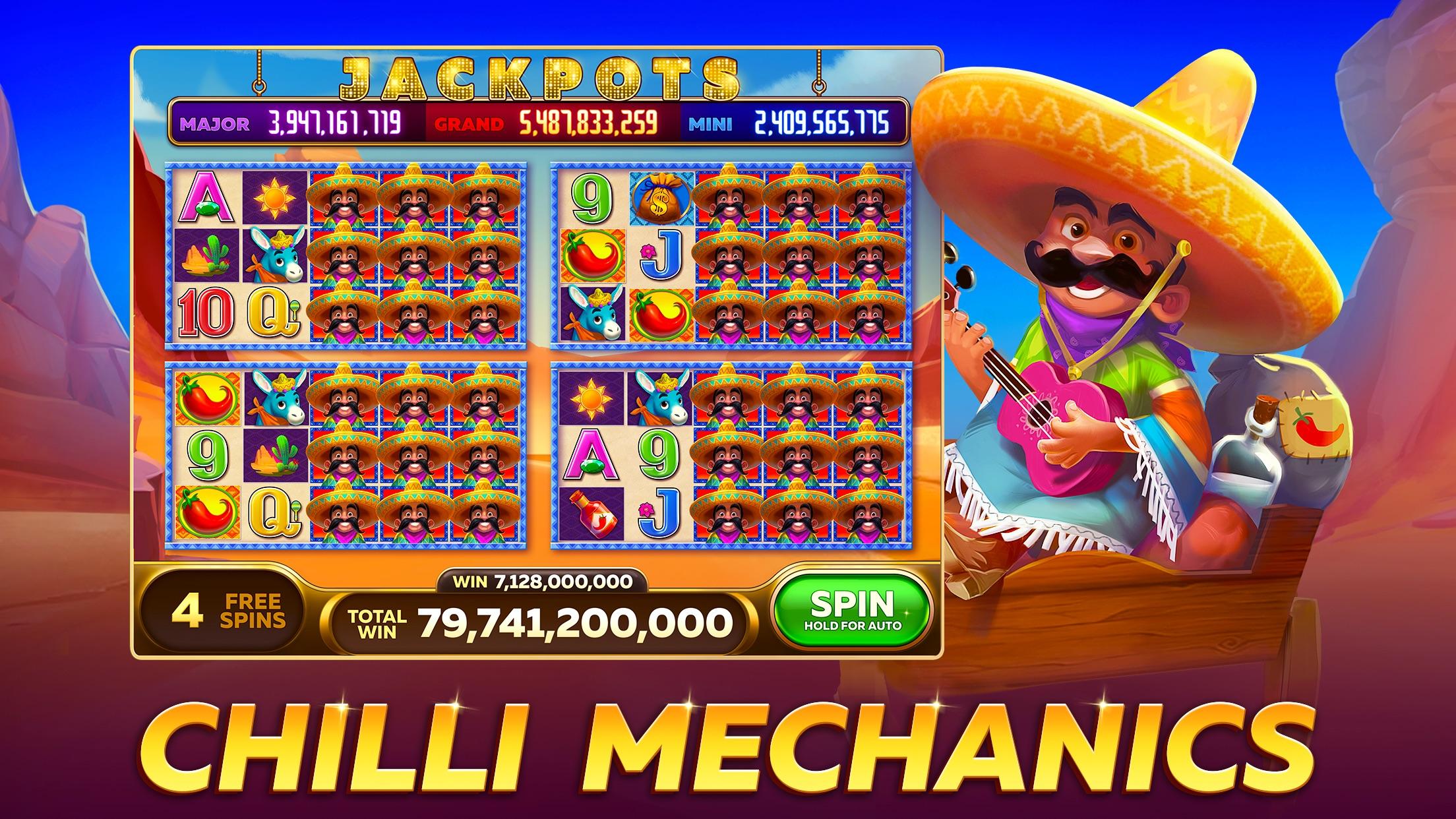 Casino Games - Infinity Slots Screenshot