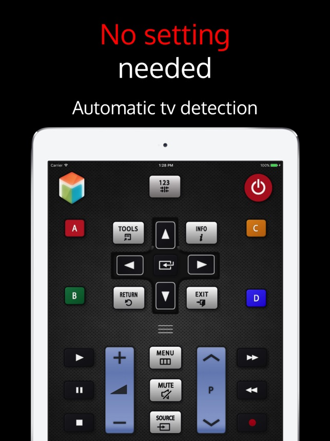 SamRemote: remote Samsung TV on the App Store