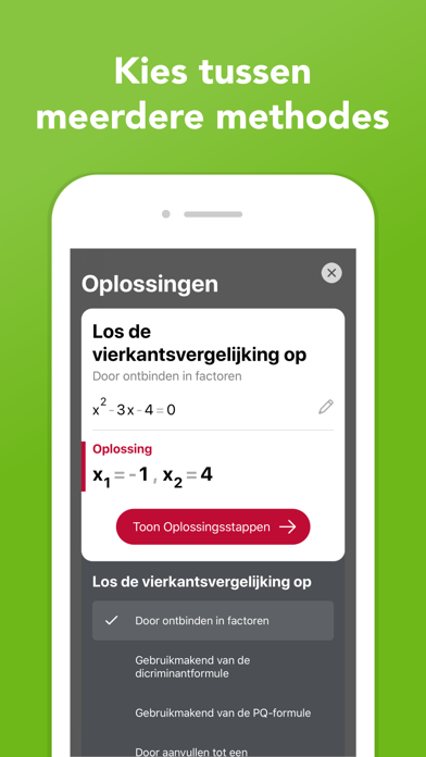 Screenshot for Photomath in Netherlands App Store