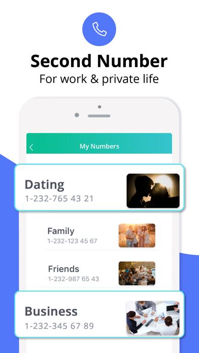 CallHelp 2nd number, stop scam Screenshot