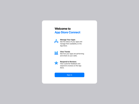 App Store Connect screenshot 8