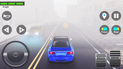 Herunterladen Auto Spiele Fahrschule Deutsch für Android
