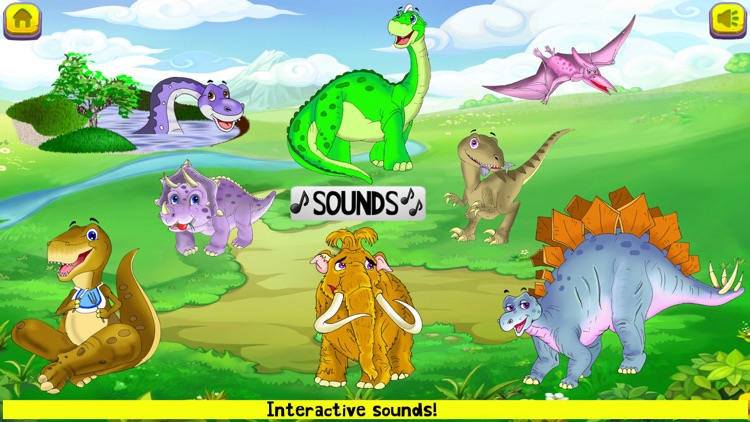 Dinosaur Toddler Games Puzzles screenshot-4