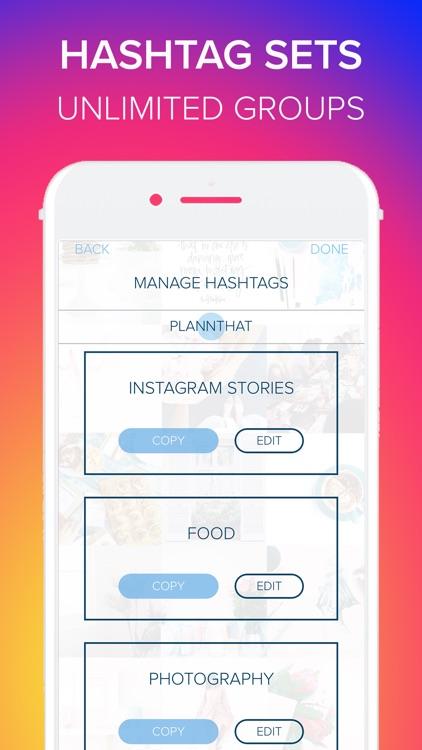 Plann + Preview for Instagram screenshot-4