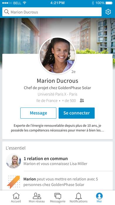 Screenshot for LinkedIn in France App Store