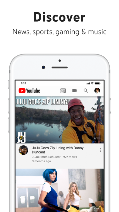 download YouTube: Watch, Listen, Stream apps 0