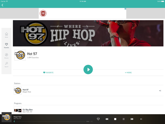 TuneIn Radio Pro Screenshots
