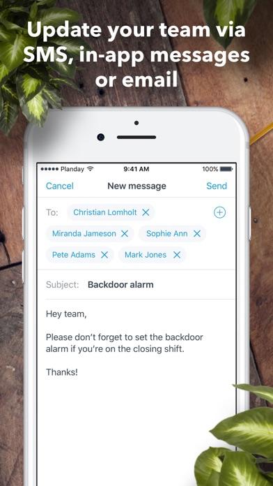 Screenshot for Planday Employee Scheduling in Sweden App Store
