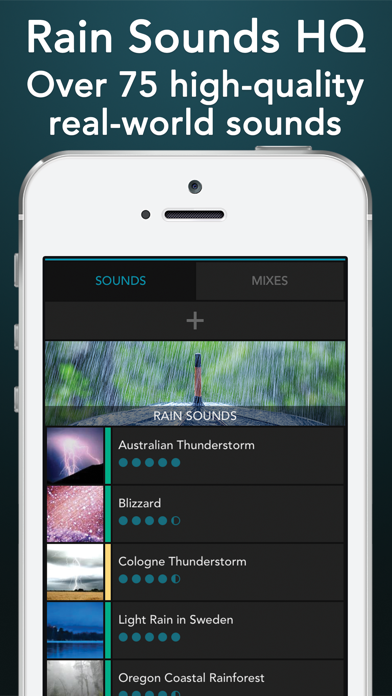 messages.download Rain Sounds HQ: sleep aid software
