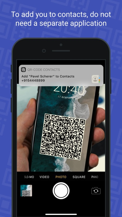 QR Card - business card