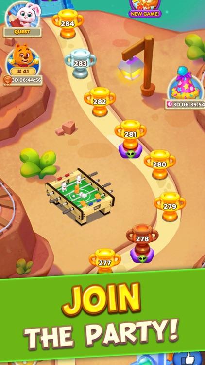 Toy Party: Match 3 Hexa Blast! screenshot-4
