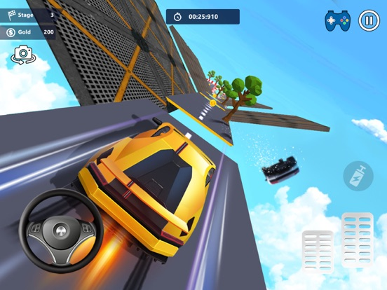 Car Stunts 3D - Sky Parkour screenshot 8