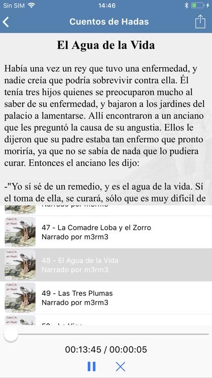 Audio Cuentos Infantiles screenshot-3