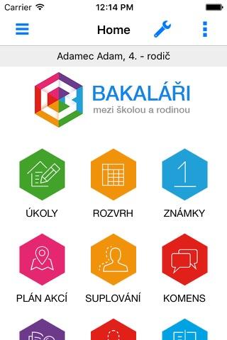 Bakaláři - oficiální aplikace - náhled