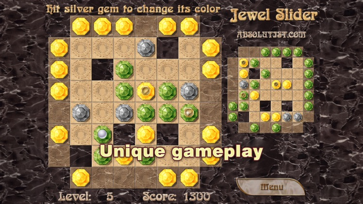 Jewel Slider: Match 3 Puzzle screenshot-3