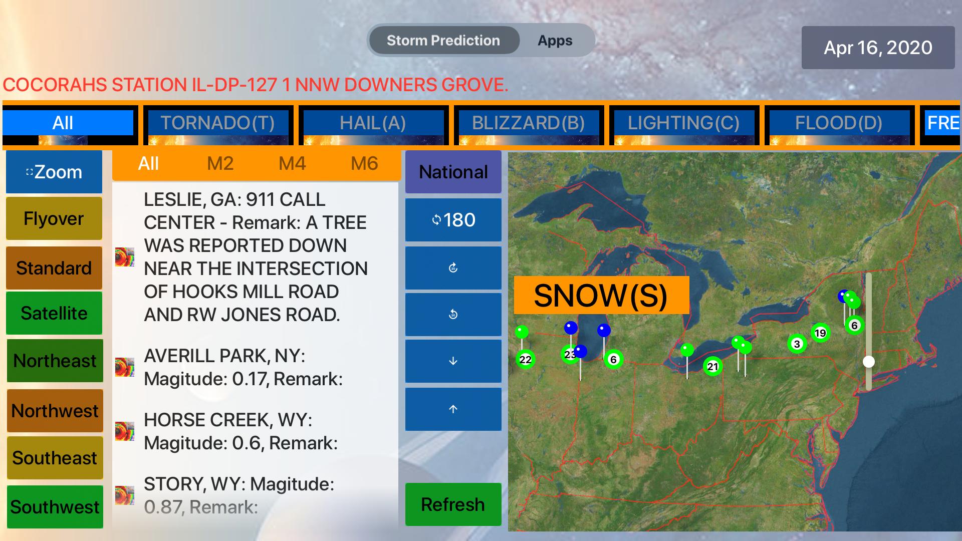 Instant NOAA Storm Pro screenshot 16