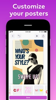 PosterBoost: Poster Maker iphone images