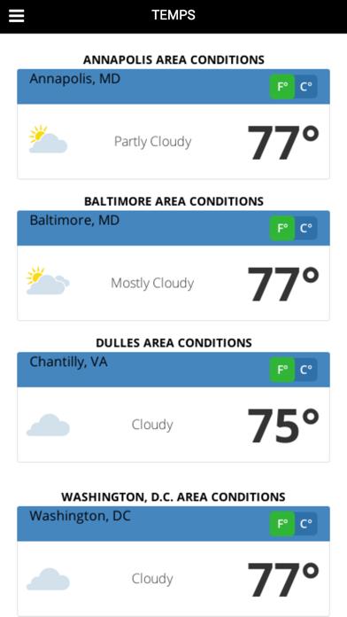 DC MD VA Weatherのおすすめ画像3