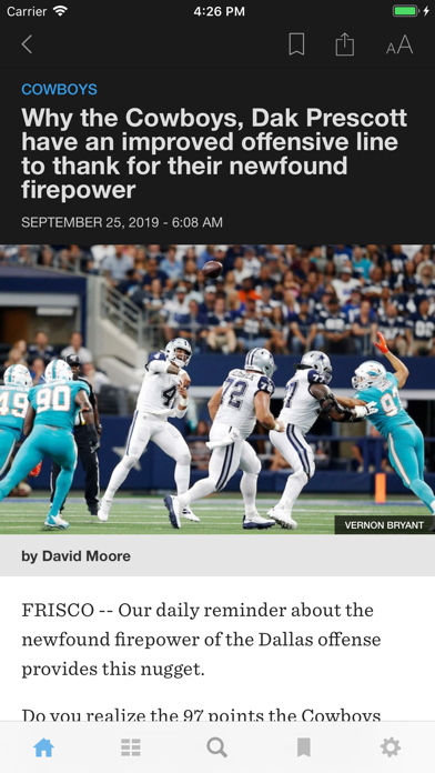 The Dallas Morning News App Screenshot