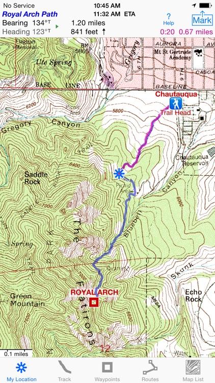 i Hike GPS : Topo Maps