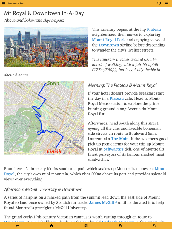 Montreal's Best: Travel Guide screenshot 11