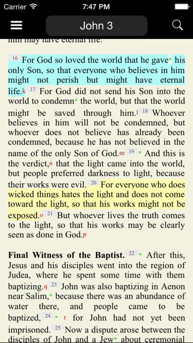Catholic New American Bible REのおすすめ画像1