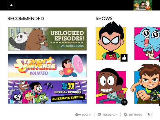 Watch Cartoon Network – Videos, Episodes, Clips and Live TV screenshot
