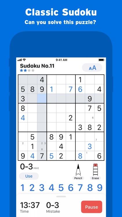 Sudoku+ Classic Puzzle