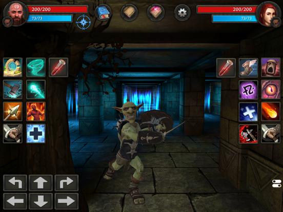 Moonshades dungeon crawler RPGのおすすめ画像2