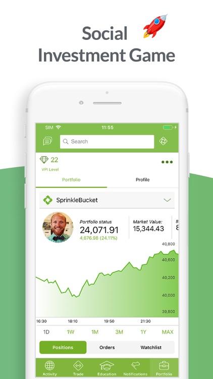 SprinkleBit - Social Investing