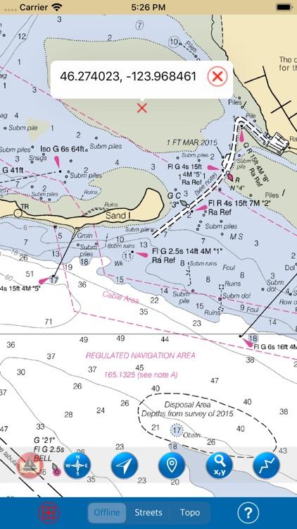 Oregon – Marine Map Boating screenshot-3