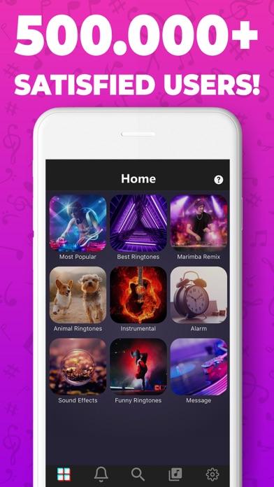 Screenshot #1 pour Sonnerie: pour iPhone