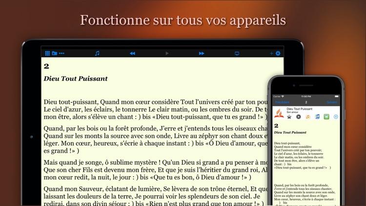 Recueil de Cantiques screenshot-8