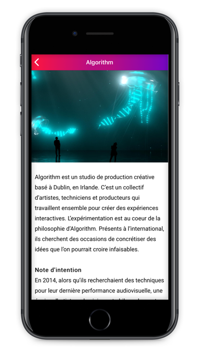 Immersive Art Festival Paris screenshot 5