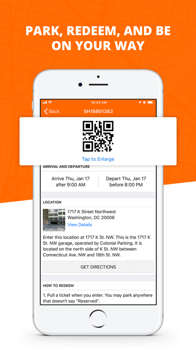 Screenshot for Parking Panda in United States App Store