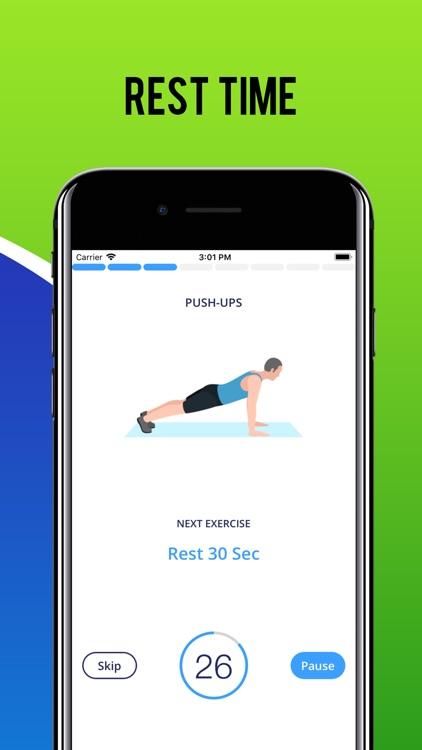 Men Fitness Workout screenshot-4